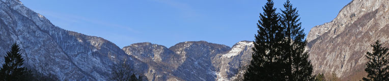 Mountains panorama royalty free stock images