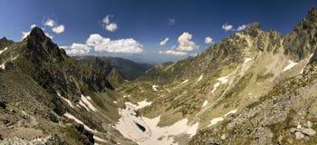 Mountains panorama Royalty Free Stock Photos