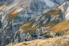 Mountains Panorama of the Dolomites Royalty Free Stock Photography
