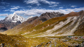 Mountains Panorama Himalaya Stock Images