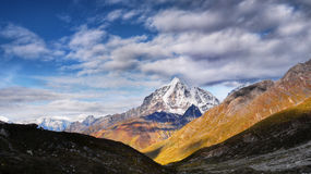 Mountains Panorama Himalaya Royalty Free Stock Photography