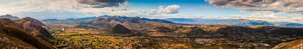 Mountains panorama Stock Photography