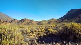 Mountains panorama of Teide vulcano area stock video