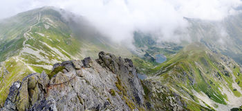 Mountains panorama Royalty Free Stock Image