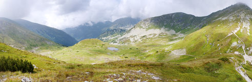 Mountains panorama Stock Photos