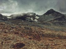 Tierra del Fugeo. Mountains, Passo Valdivieso Stock Photography