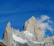 Mountains of Patagonia, Mount Fitz Roy royalty free stock image