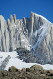 Mountains of Patagonia royalty free stock photo