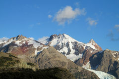 Mountains of Patagonia royalty free stock images