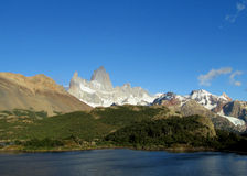 Mountains of Patagonia Royalty Free Stock Photography
