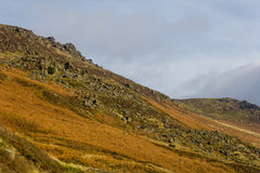 Mountains in the peak District Royalty Free Stock Images