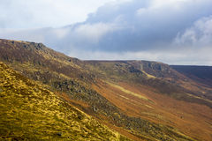 Mountains in the peak District Royalty Free Stock Photo