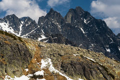 Mountains peaks Royalty Free Stock Photos