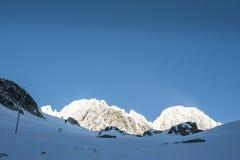 Mountains peaks Royalty Free Stock Image
