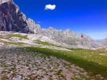 Mountains `Peaks of Europe` royalty free stock photos