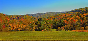 The Mountains of Pennsylvania Stock Photography
