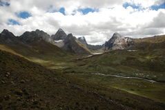 Mountains of Peru royalty free stock images