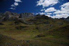 Mountains of Peru royalty free stock photos