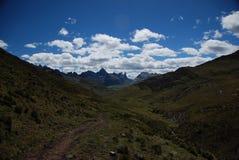 Mountains of Peru Stock Photo