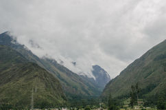 Mountains in Peru Royalty Free Stock Images