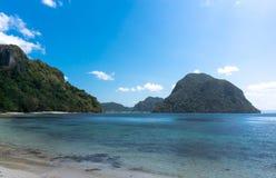 Mountains in Philippine sea Stock Photos