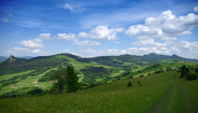 Free Mountains Pieniny In Slovakia And Poland Stock Images - 72961264