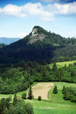 Mountains Pieniny in Slovakia and Poland Stock Images