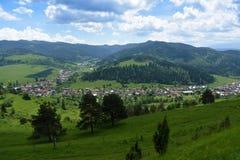 Mountains Pieniny in Slovakia and Poland Royalty Free Stock Image