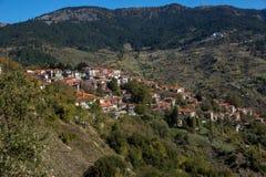 Mountains of Pindus, EpirusTown of Metsovo, Epirus Royalty Free Stock Images