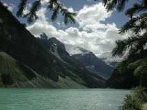 Lake Louise in Alberta, Canada royalty free stock images