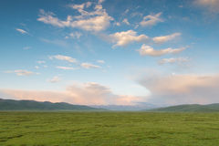 Mountains and plains Stock Photography