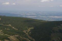 Mountains in Poland - Karkonosze. Beautiful mountains in Poland during summer Royalty Free Stock Photo