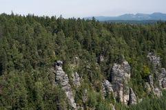 Mountains in Poland - Karkonosze. Beautiful mountains in Poland during summer Royalty Free Stock Image
