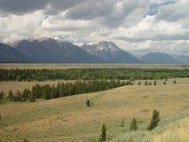 Mountains and Prairies Royalty Free Stock Image