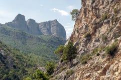 Mountains of the Pyrenees Stock Photos