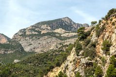 Mountains of the Pyrenees Royalty Free Stock Images