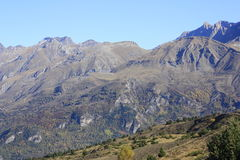 Mountains in Pyrenees. Tramacastilla de Tena Stock Images