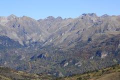 Mountains in Pyrenees. Tramacastilla de Tena Royalty Free Stock Image