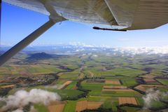 Mountains of  Queensland, Australia Stock Photography