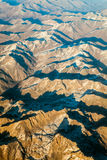 Mountains range, aerial view Stock Photography