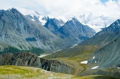 Mountains range in Altai Royalty Free Stock Photos