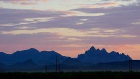 Mountains range stock footage