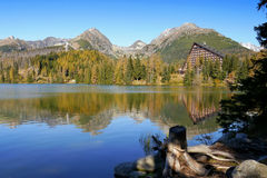 Free Mountains Reflection In The Lake Royalty Free Stock Image - 48462676