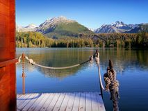 Free Mountains Reflection In The Lake Royalty Free Stock Photo - 48463235