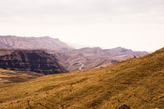 Mountains. Of the  Republic of  Dagestan Royalty Free Stock Photos