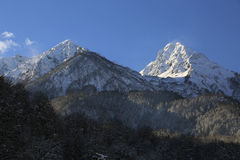 The mountains Royalty Free Stock Photography