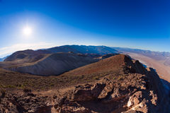 Mountains ridge in Death Valley Royalty Free Stock Photography