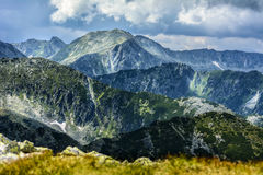 Mountains ridges Stock Images