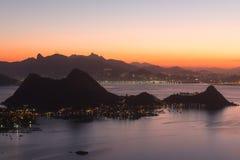 Mountains of Rio de Janeiro, Brazil Royalty Free Stock Images