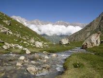 mountains river Стоковые Изображения